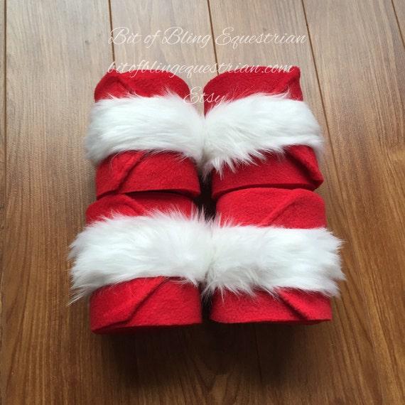 4 Santa Polo Wraps