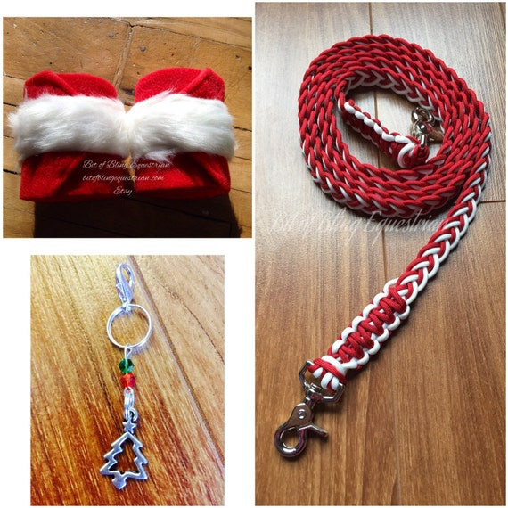 Santa Claus Reins, Wraps and Charms Set