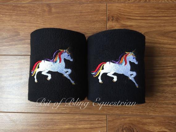 2 Unicorn Polo Wraps