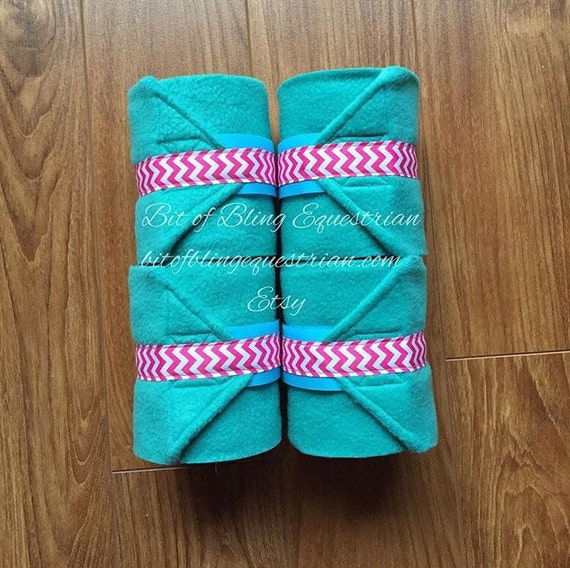 4 Custom Chevron Polo Wraps