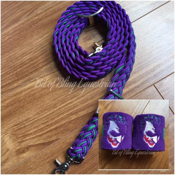 Joker inspired Reins and Wraps Gift Set