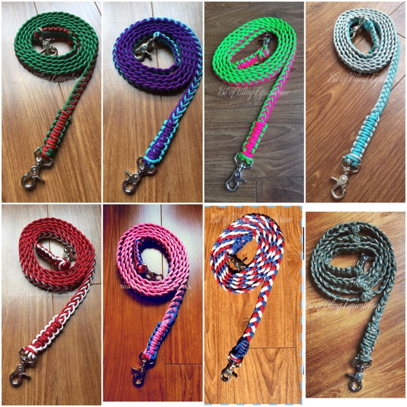 Custom Non Adjustable Paracord Reins