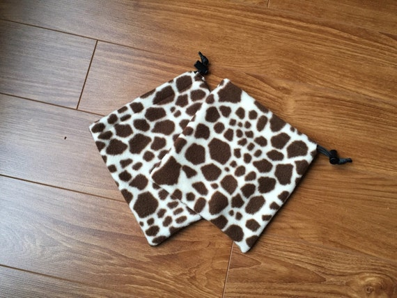 Giraffe Stirrup Covers- Ready To Ship