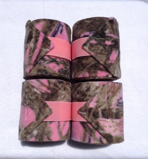 4 Pink Camo Polo Wraps