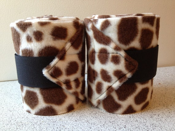 2 Giraffe Polo Wraps