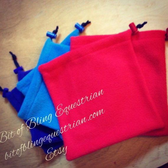 English Stirrup Covers - Assorted Solid Colours