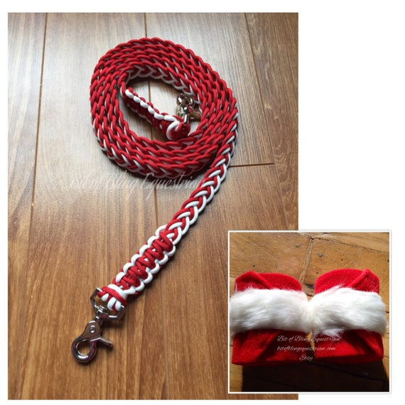 Santa Claus Reins and Wraps Set