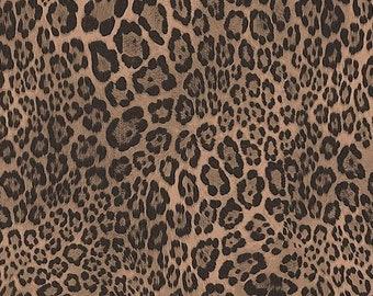 "Realistic Cheetah Spot Wallpaper - Jungle Safari Wall Decor, Leopard Animal Fur Pelt, Teen Girl Diva Den, Babe Cave - 5""x7"" Sample G67461so"