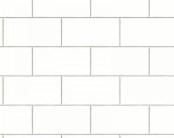 Textured subway tile | Etsy