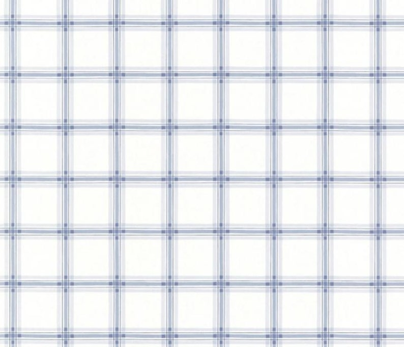 Fresh Country Blue And White Plaid Cottage Style Boys Etsy