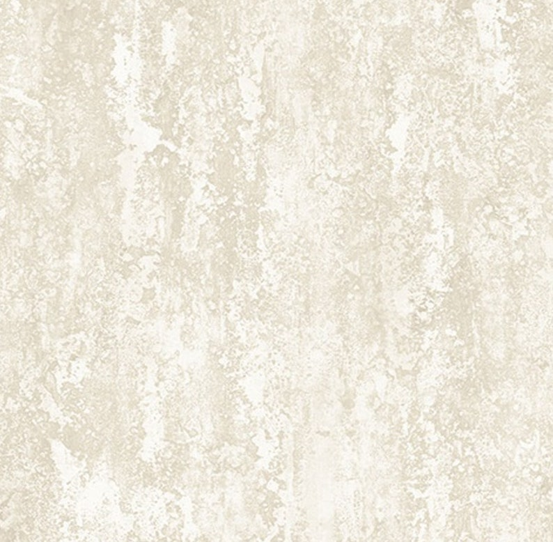 Chippy Peeling Paint Faux Texture Light Taupe Distressed Plaster Wallpaper Faded Worn Stucco Industrial Laundry By The Yard IM36429so