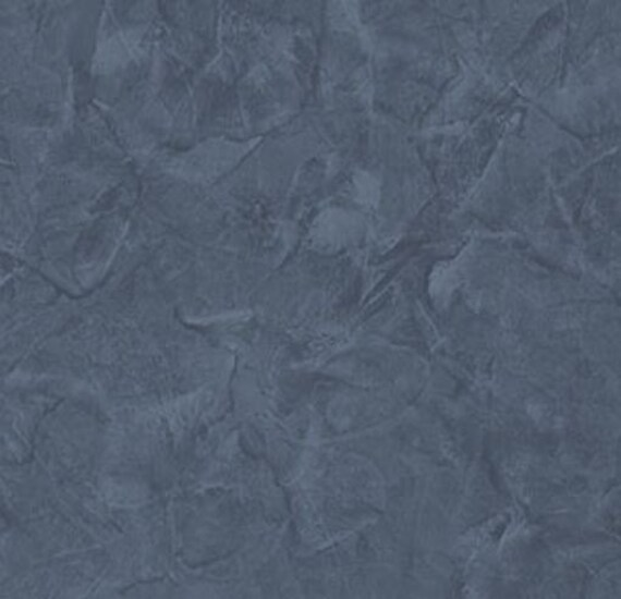 Dark Blue Distressed Stucco Faux Texture Kitchen Rustic Country Worn Aged Plaster Boy For Wall Wallpaper By The Yard Ll29557so