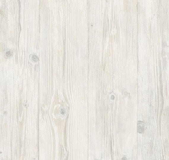 Rustic Old Weathered Boards Wallpaper Light Gray Wood Plank Etsy
