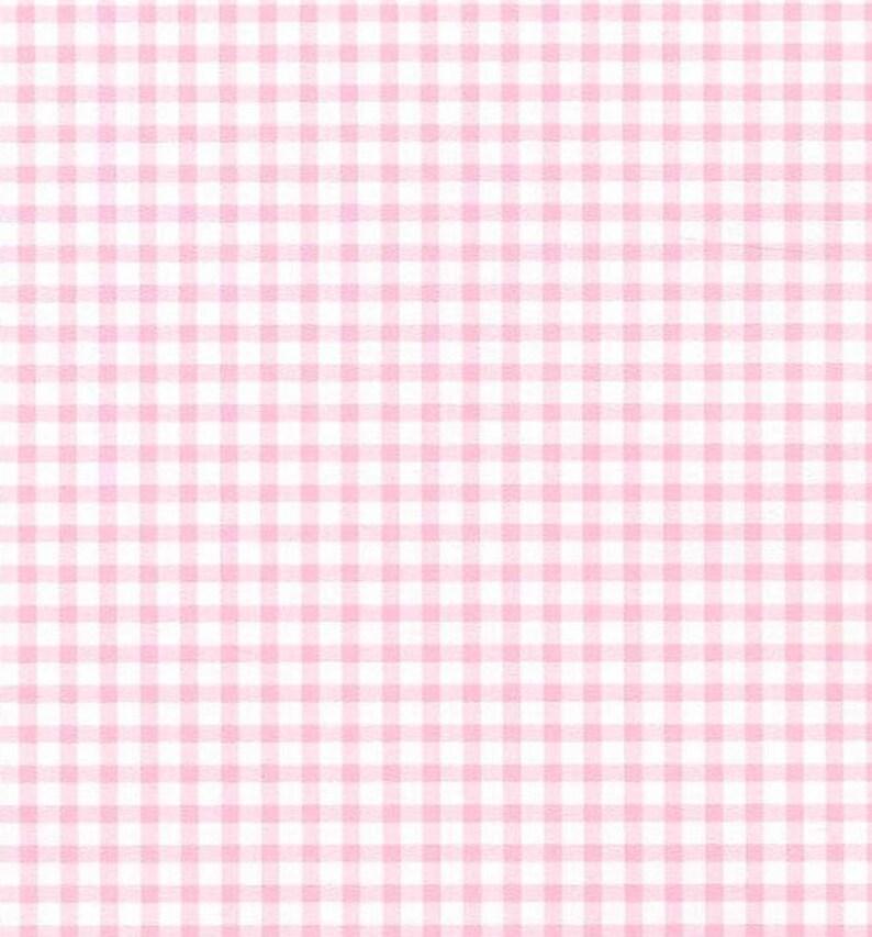 Beau Petite Rose Vichy Check Carreaux De Cottage Campagne Chic | Etsy