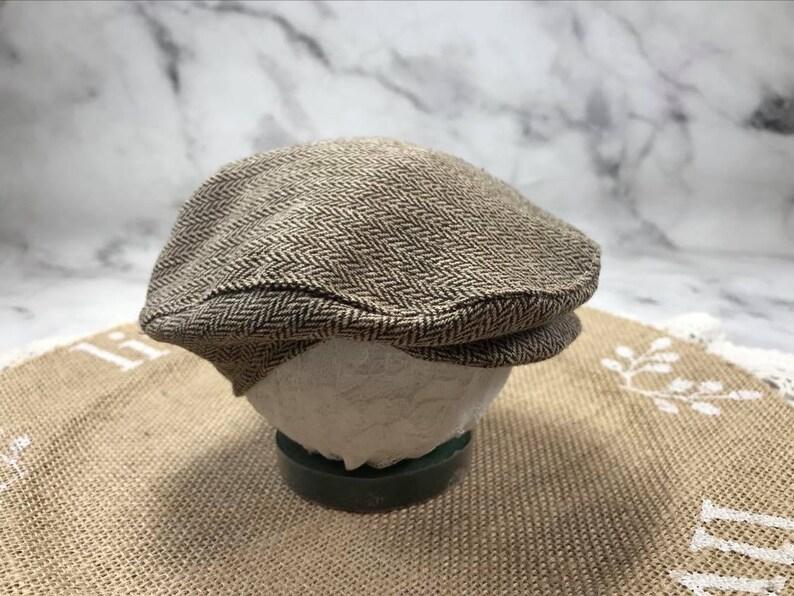 RTS*newborn flat cap*new baby cap*baby boy caps*blue flat cap*gray flat cap*brown flat cap*flat caps for baby*newborn flat caps*newborn hats