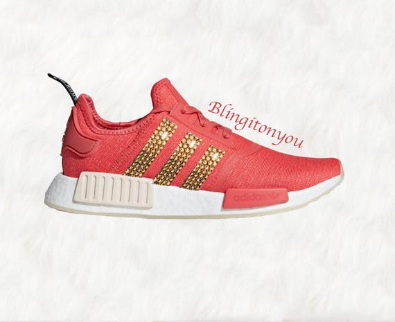 online retailer 3959d a60bc Swarovski Women's Adidas NMD R1 Casual Shoes