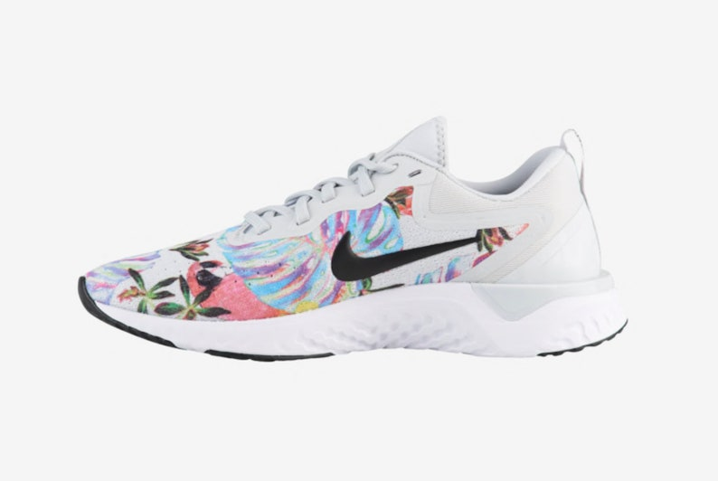 840655d9641 Swarovski Nike Odyssey React Women s Shoes Floral Blinged