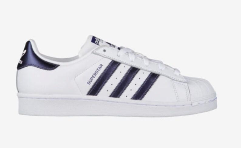 Bling adidas Superstar z kryształkami Swarovskiego * damskie oryginały Superstar casual buty