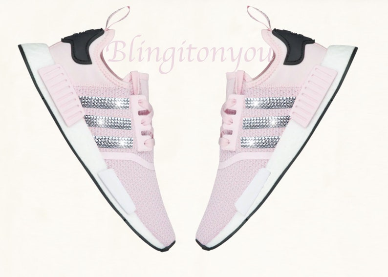 06fb9f7441305 Swarovski Adidas NMD Runner Casual Shoes