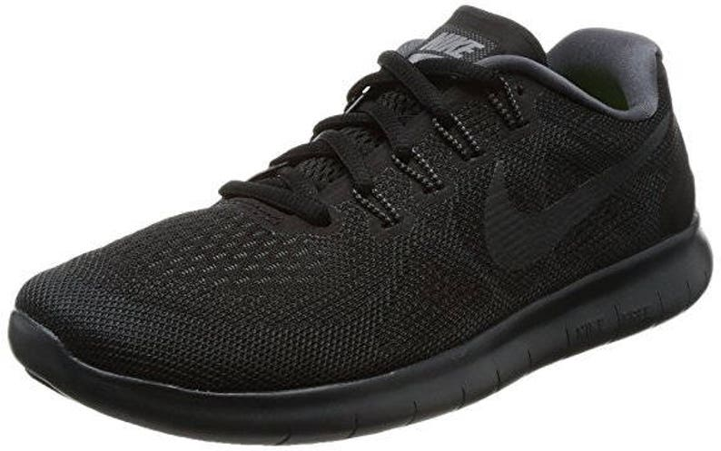 fbe1493d6542 Black Swarovski Nike Free RN Running Shoes Customized With