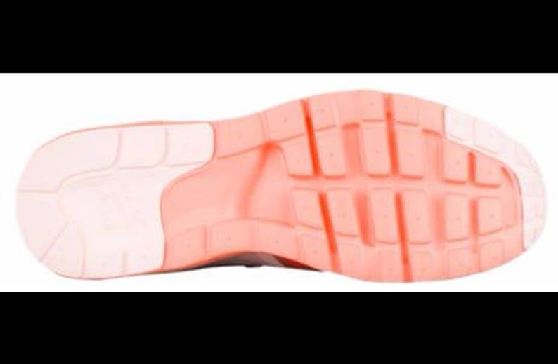 a7fe690865 Swarovski Nike Air Max Zero Sunset Tint / Glow Shoes Custom | Etsy