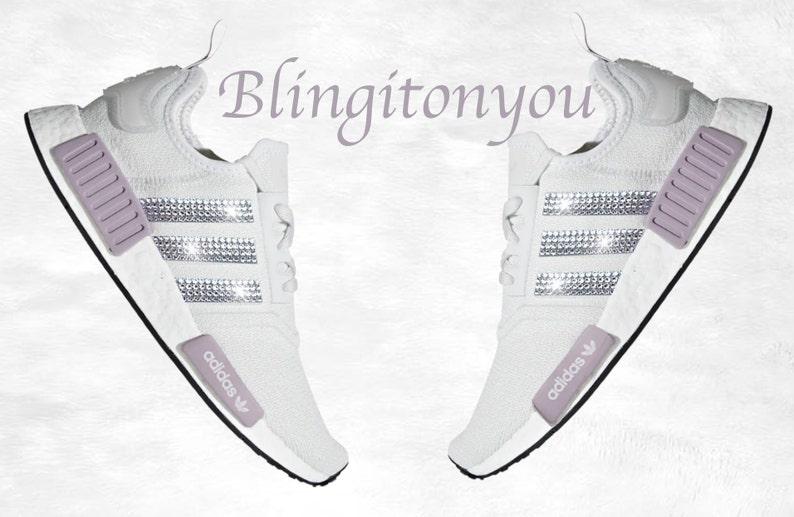 52f3d1937bead Swarovski Adidas NMD Runner Casual Shoes