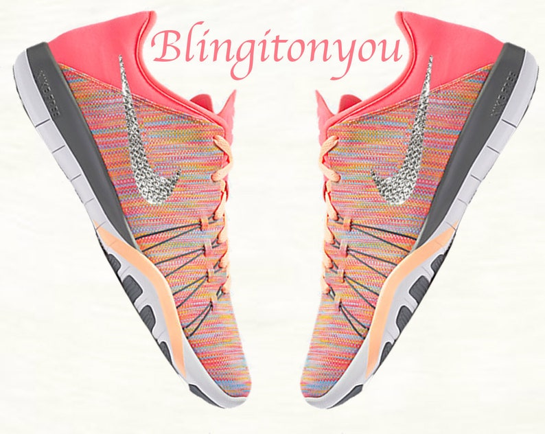 Swarovski Nike Free TR 6 AMP Women s Shoes Custom Blinged  be3f664fc125