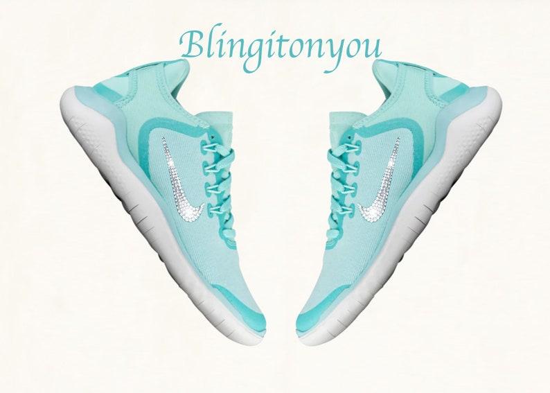 0a97ddb14ccb Swarovski Nike Free Running Shoes Customized With Swarovski