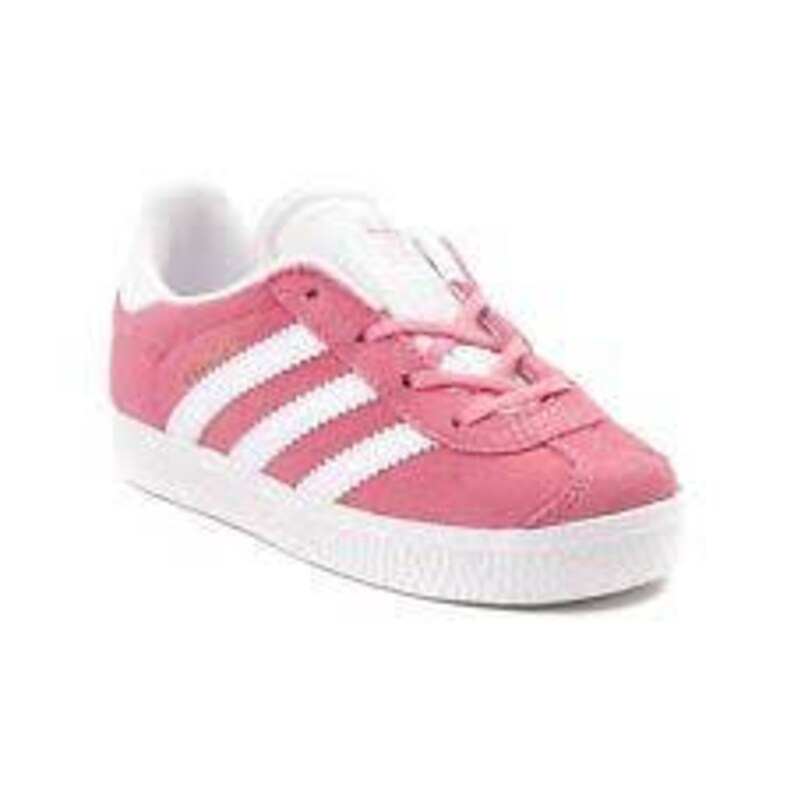 f976cdf929a6d Gorgeous Toddler adidas Gazelle Athletic Shoe blinged with Swarovski  crystals all stripes! Dark pink/Light pink/Navy/Black/White