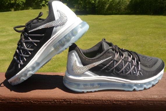 Blingitonyou Black Wolf Grey Dark Grey SALE Bling Nike Air
