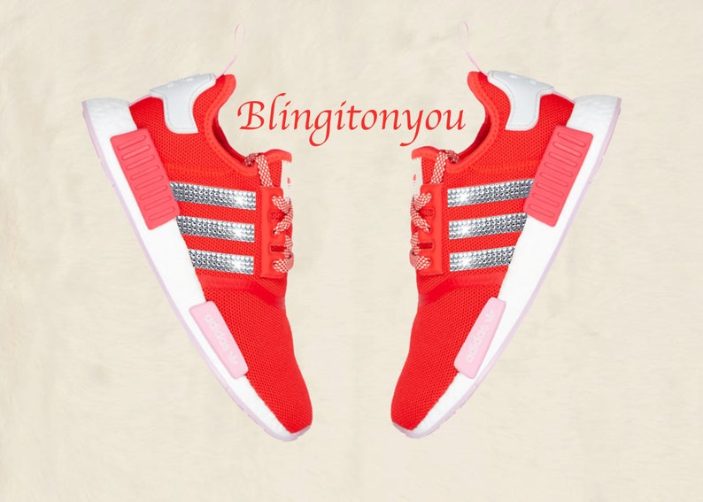 9d64b2ca0 Swarovski Adidas NMD Runner Casual Shoes