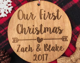 Our first christmas | Etsy