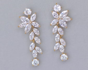 Gold bridal jewelry | Etsy