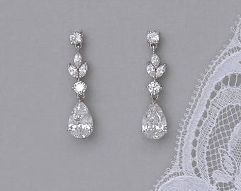 Crystal drop earring  2fcdda009f