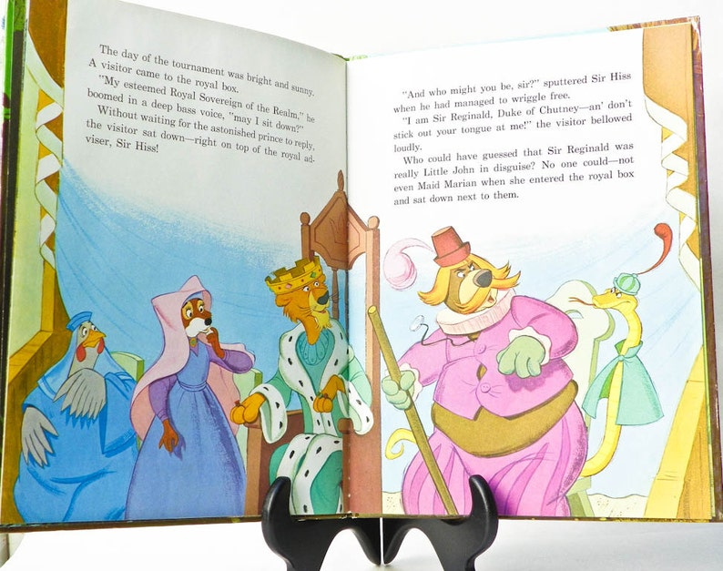 1973 robin hood book extra large giant book a golden book