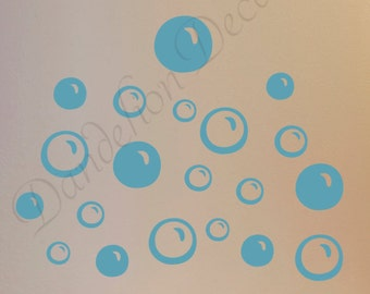 Laundry Room Decor, Laundry Room Bubbles, Wall Sticker