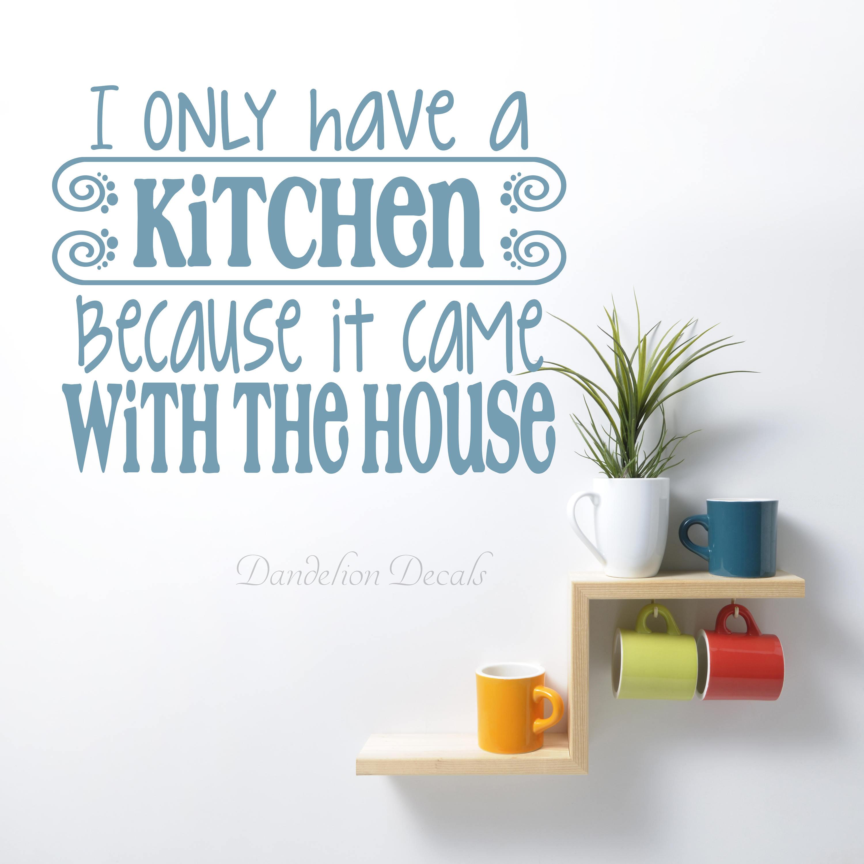 Kitchen Wall Art - Kitchen Quote - Kitchen Wall Decor - Wall Decor ...