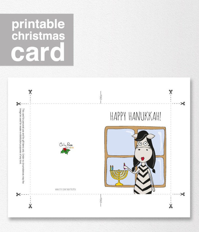 photo regarding Printable Hanukkah Card referred to as Printable Hanukkah Card, Delighted Hanukkah, Humorous Hanukkah Card, Humorous Getaway Card, Holiday vacation Card, Family vacation Card as a result of Orlypea