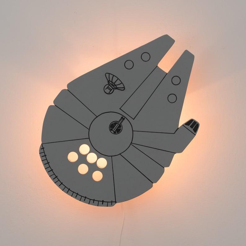 Millennium Falcon Wandlampe Star Wars