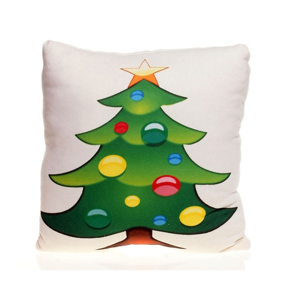 Christmas Tree Emoji.Christmas Tree Emoji Pillow Fun Gift Christmas Gift Christmas Decoration Emoji Gift Decorative Pillow Christmas Gift Idea