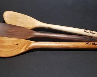 "Wooden Spurtle-Handmade!!!  AKA ""The Kitchen Magician"""