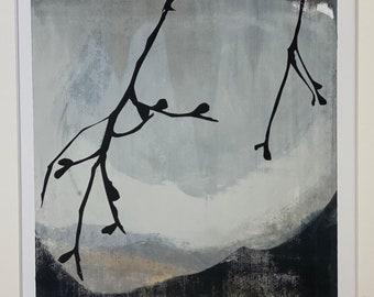 Last Figs original screen print / artwork / painting / original print / screen print / art for interiors / gift / present / Sussex / UK