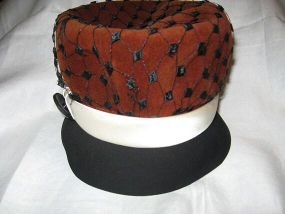 1950s Elsa Schiaparelli Designer Hat - Paris, Fra… - image 2