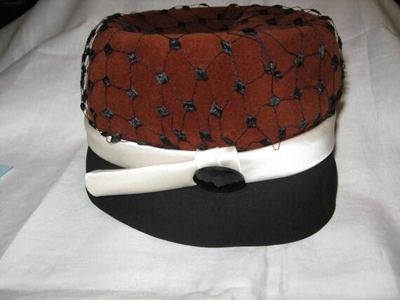 1950s Elsa Schiaparelli Designer Hat - Paris, Fra… - image 5