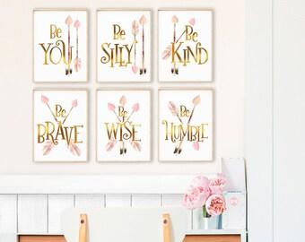 Teen Bedroom Room Decor |  Woodland Print Set | Baby Girl Nursery | Bedroom Decor | Printable Wall Art | Woodland Printable