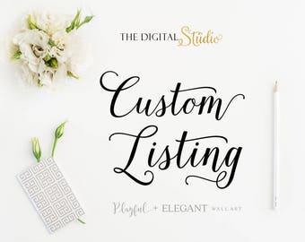 Custom Order m.