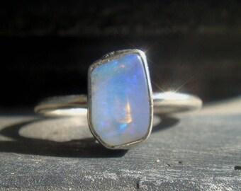 Opal Ring - Australian Opal Ring - Boho Ring - Boho Chic