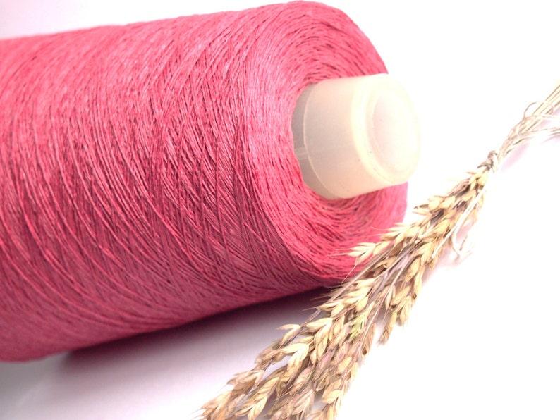 500 g 17,5 oz Natural Linen Yarn Knitting High Quality Linen Yarn For Crochet