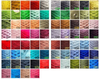500 g/ 17,5 oz  Any color - 88 colors to choose, Linen Yarn, High Quality, Linen Yarn For Crochet, Knitting, Weaving