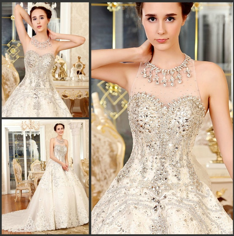 81c2c407cc68 YZ Sweetheart Beaded Crystal Beautiful Sexy Ball Gown